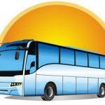 Автобус картинка. Вивчаємо букву А